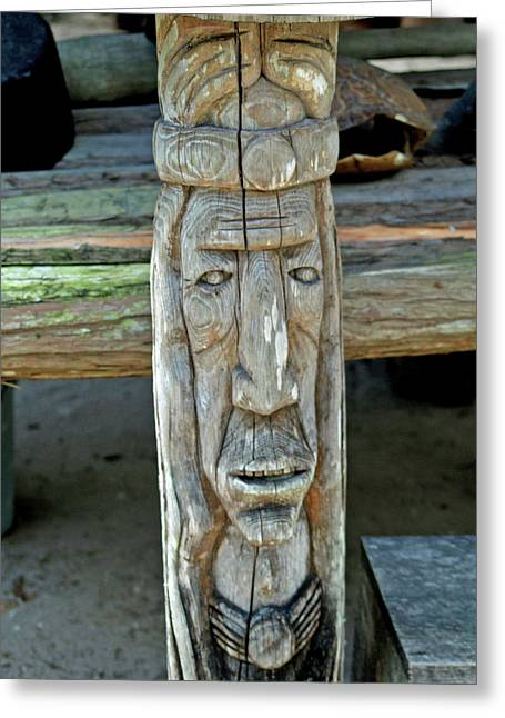 Seminole Woodcarving 1 Photograph By Randy Muir