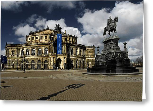 Semper Opera House Dresden - A Beautiful Sight Greeting Card