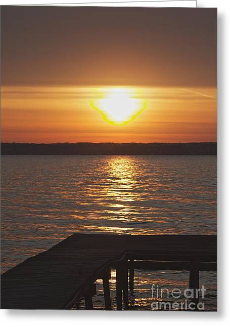 Greeting Card featuring the photograph Seneca Lake by William Norton