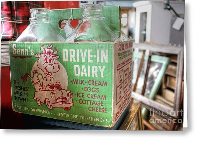 Senn's Drive-in Dairy Greeting Card