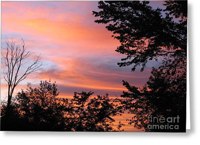 September Sunrise 3 Greeting Card by Cedric Hampton