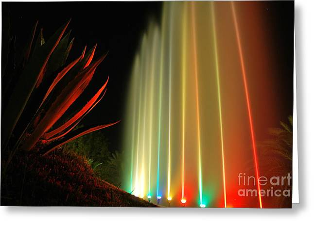 Serenade For Rainbow Greeting Card