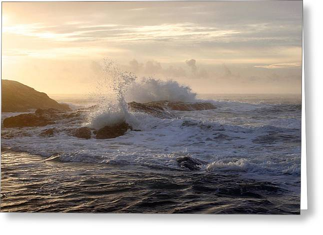 Greeting Card featuring the photograph Serene Sunset  by Michael Rock