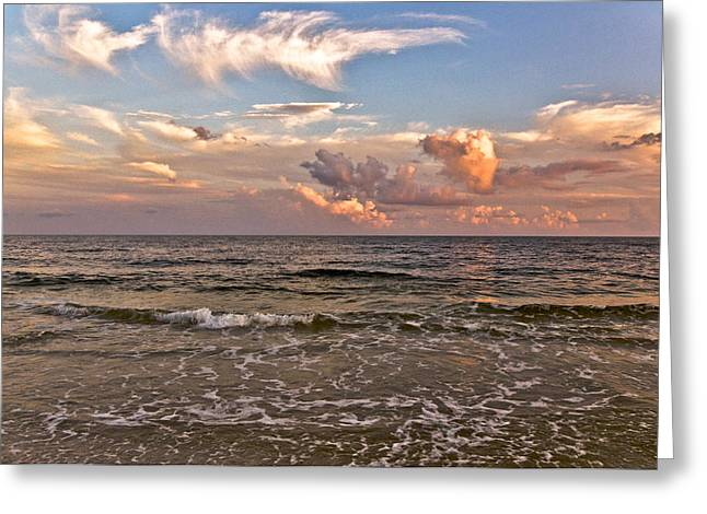Serenity Greeting Card by Victoria Lawrence