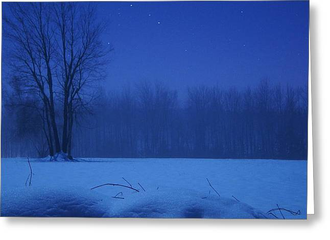 Serenity Greeting Card by Tristan Bosworth