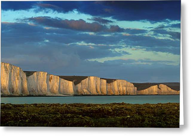 Seven Sisters Panorama Greeting Card by Mark Leader