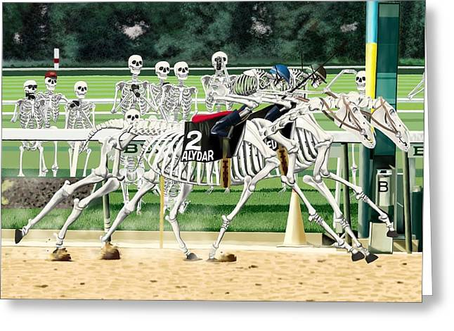 Seventy-eight Belmont Stakes Greeting Card