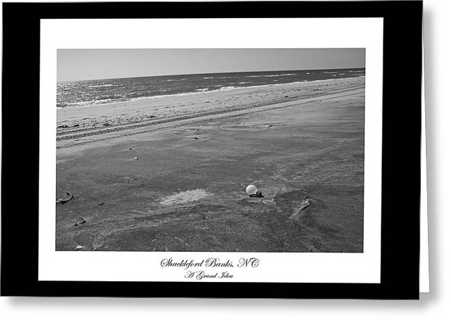 Shackleford Banks A Grand Idea Greeting Card by Betsy Knapp