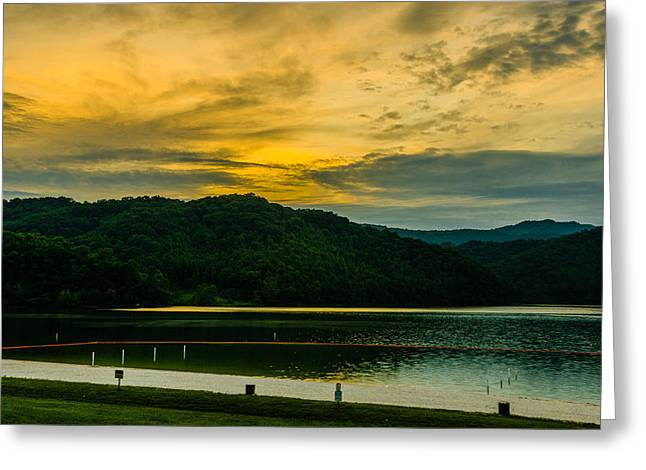 Shades Of A Good Day Greeting Card by Ken Beatty