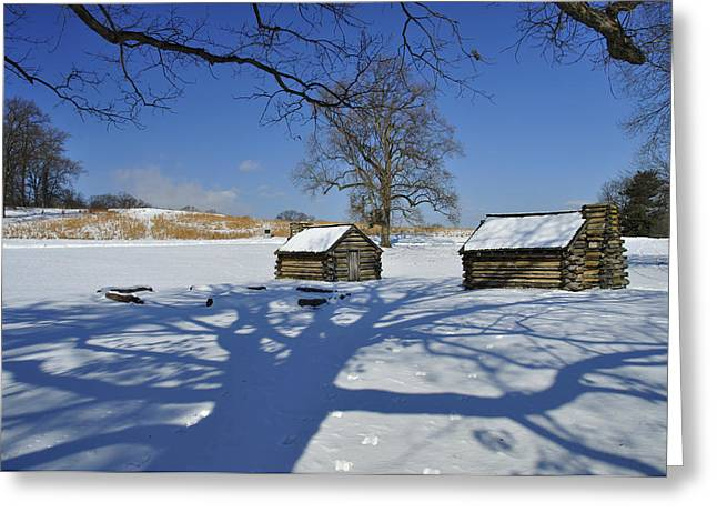 Shadow In The  Valley Forge Greeting Card by Gaetano Chieffo