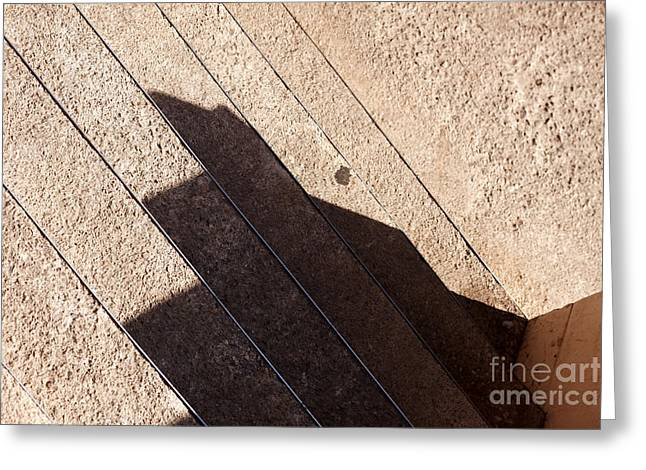 Shadow Stair Greeting Card