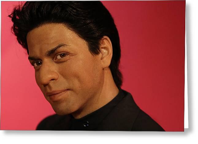 Shahrukh Khan - Shah Rukh Khan - Baadshah Of Bollywood - King Khan - The King Of Bollywood  Greeting Card by Lee Dos Santos