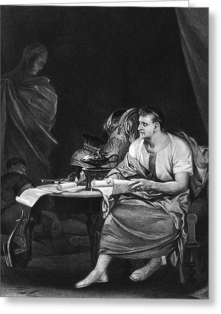 Shakespeare: Julius Caesar Greeting Card by Granger