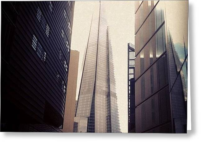 Shard #london2012 #london Greeting Card
