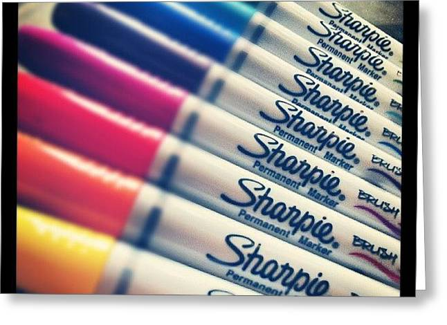 #sharpie Thanks For The Goodies ! Greeting Card