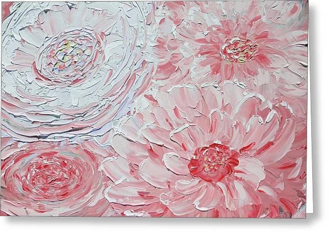 Sheer Bliss Greeting Card by Christine Krainock