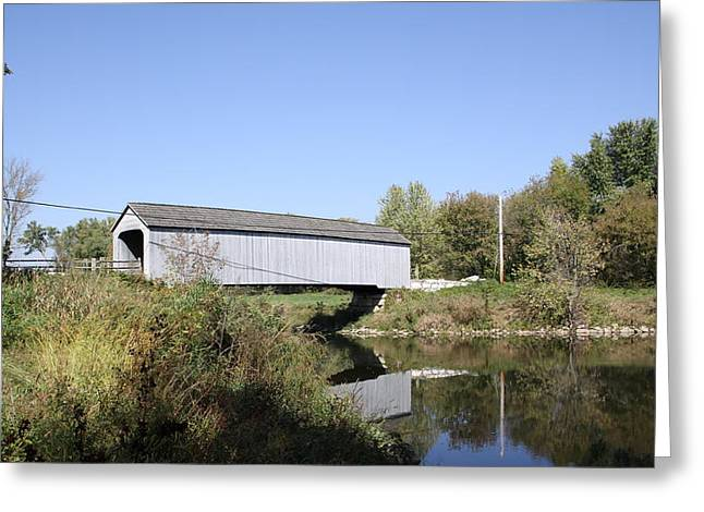Sheffield Covered Bridge Greeting Card