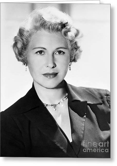 Sheilah Graham (1904-1988) Greeting Card by Granger
