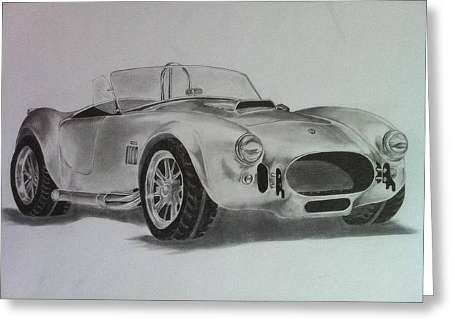 Shelby Cobra Greeting Card by Aaron Mayfield
