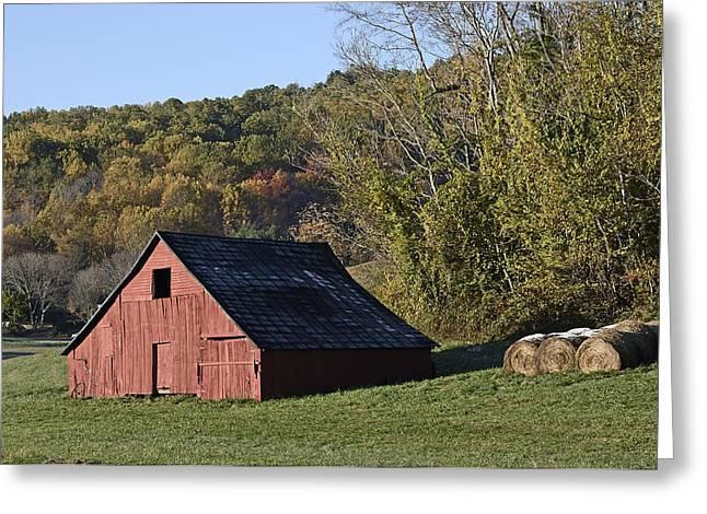 Shenandoah Farm Scene - Virginia Greeting Card