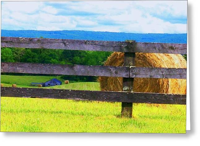 Shenandoah View Greeting Card by Joyce Kimble Smith
