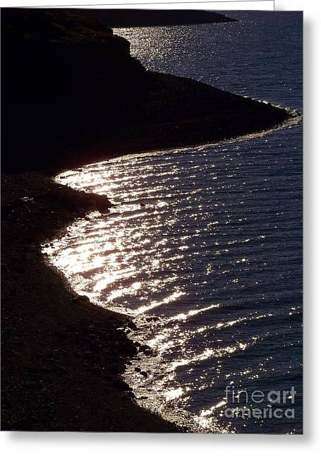 Shining Shoreline Greeting Card