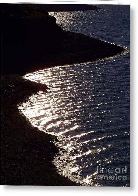 Shining Shoreline Greeting Card