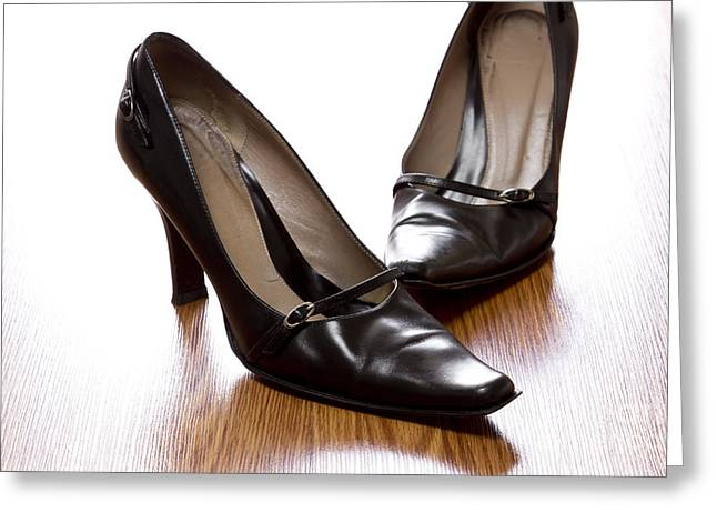 Shoes Greeting Card by Blink Images
