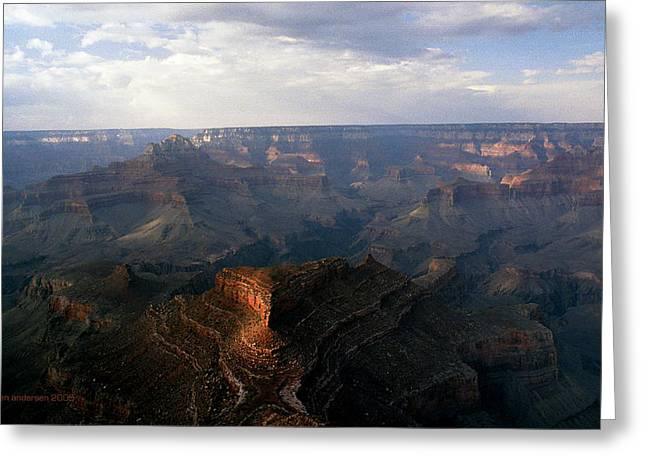 Shoshone Point Grand Canyon Arizona Greeting Card