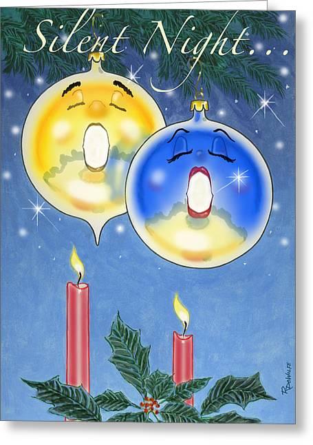 Si O Lent Night Greeting Card by Richard De Wolfe