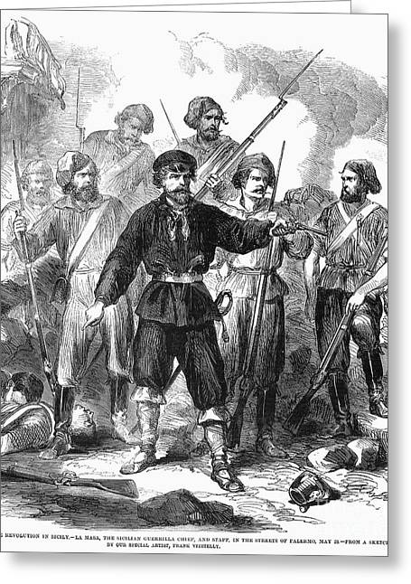 Sicily: Guerrillas, 1860 Greeting Card by Granger