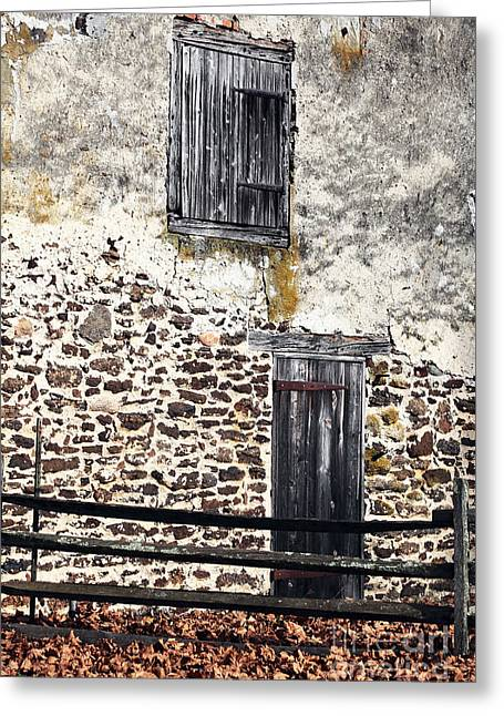 Side Entrance Greeting Card by John Rizzuto