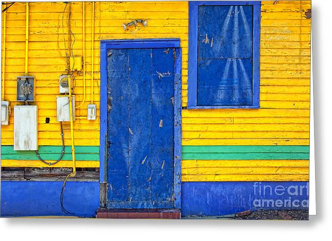 Side Of Rita's Bar And Soul Food Greeting Card by Kathleen K Parker