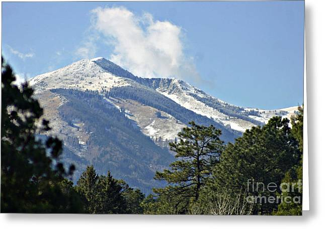Sierra Blanca Clouds 3 Greeting Card