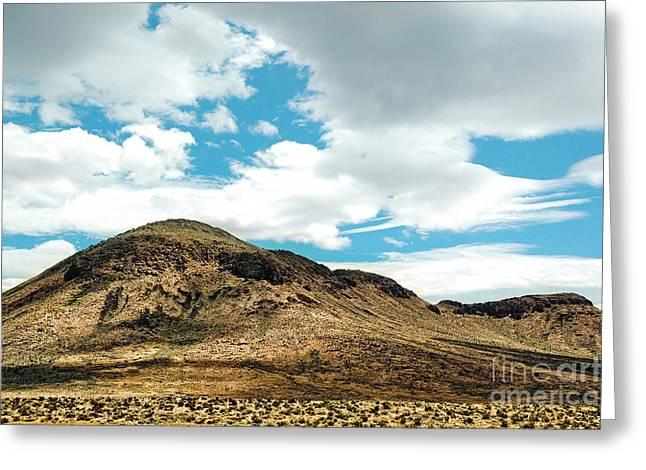 Sierra Nevadas Greeting Card by HD Connelly