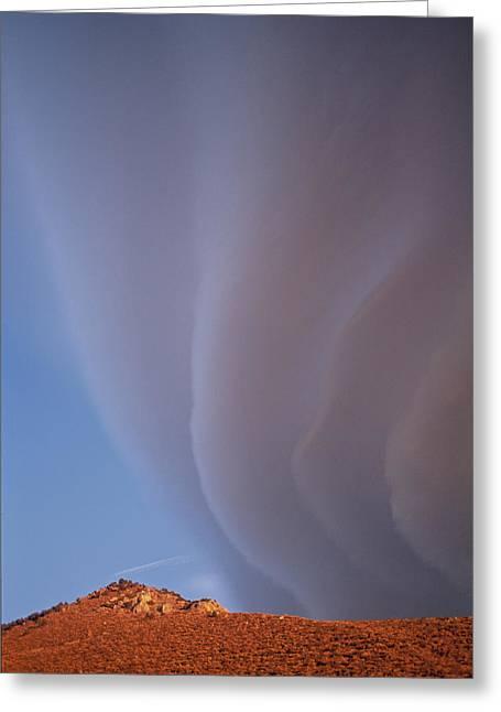 Sierra Wave II Greeting Card
