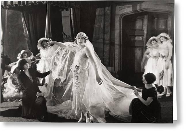 Silent Film Still:wedding Greeting Card by Granger
