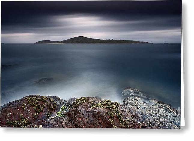 Silent Shores Greeting Card by Michael Howard