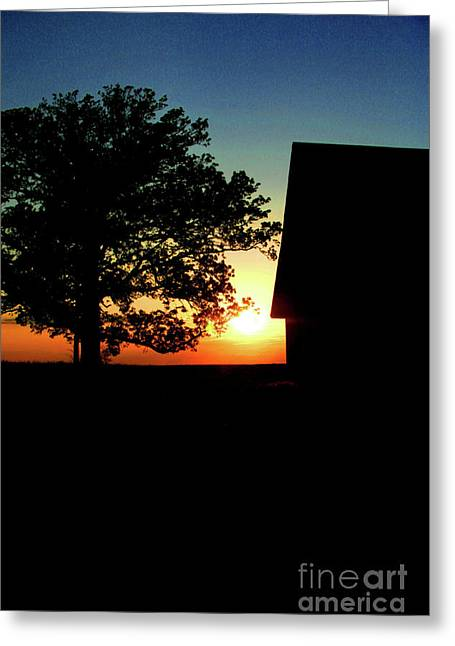 Silhouette Greeting Card by Jessica Smith