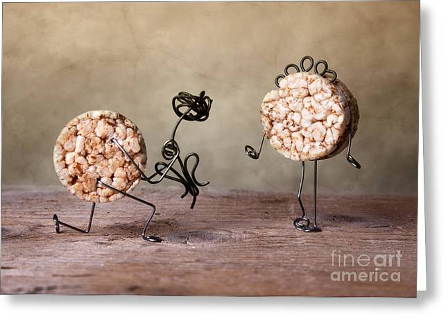 Simple Things 06 Greeting Card by Nailia Schwarz