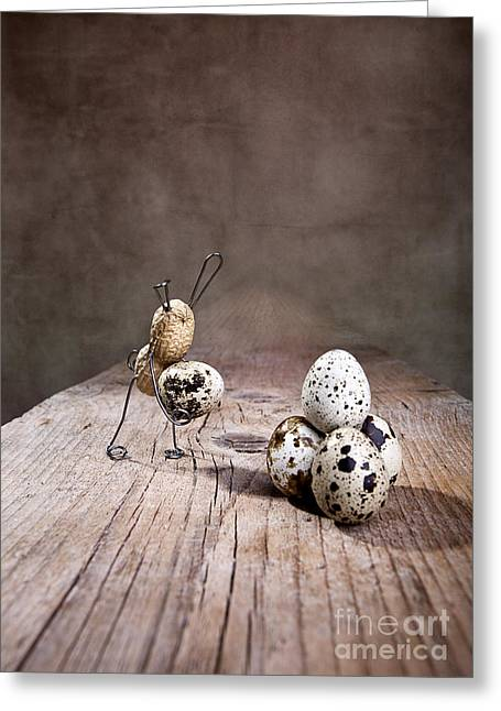 Simple Things Easter 01 Greeting Card by Nailia Schwarz