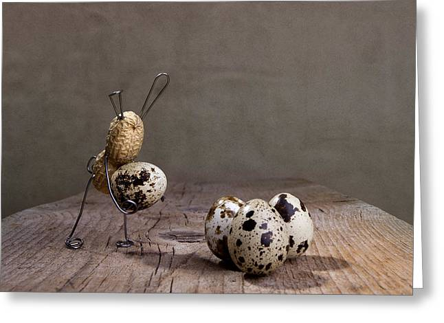 Simple Things Easter 03 Greeting Card by Nailia Schwarz