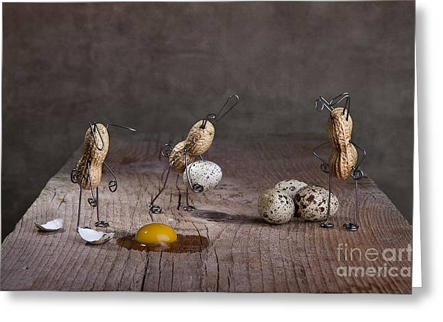 Simple Things Easter 06 Greeting Card by Nailia Schwarz