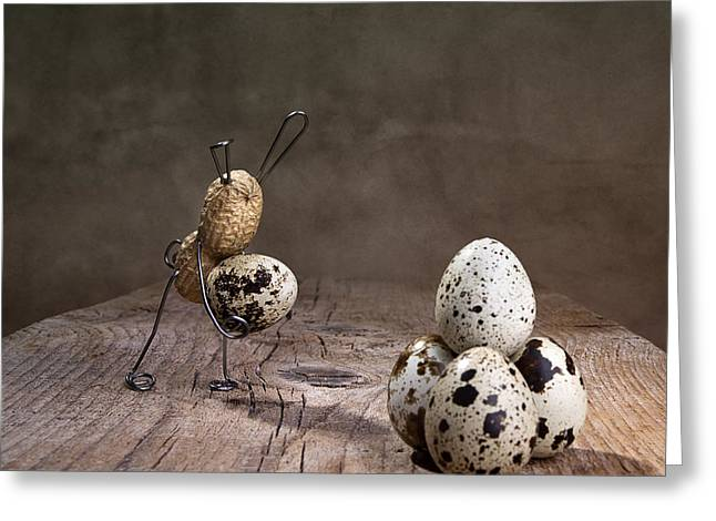 Simple Things Easter 07 Greeting Card by Nailia Schwarz