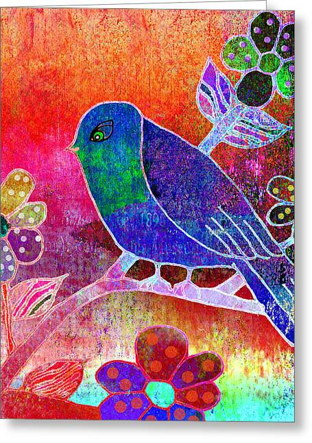 Simplicity 1 Greeting Card by Robin Mead