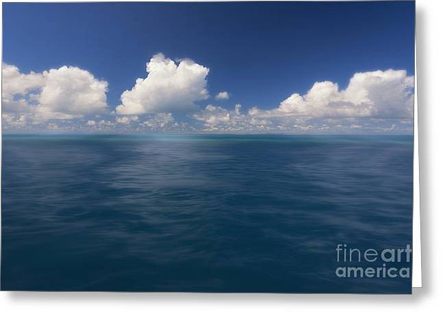 Simplicity Great Barrier Reef Greeting Card