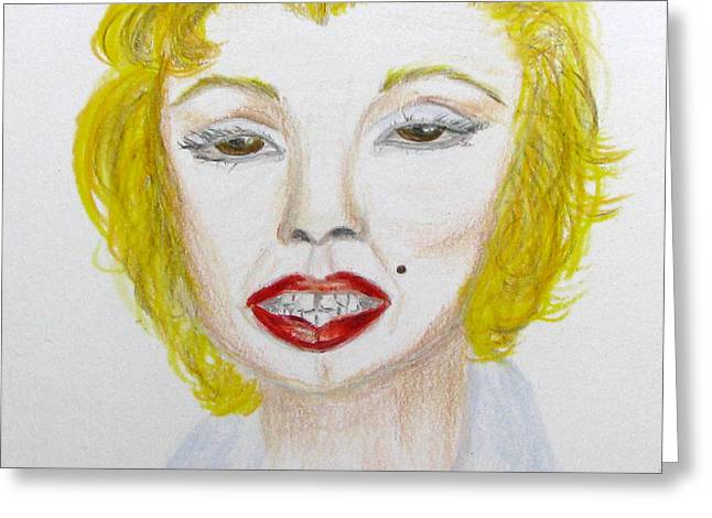 Simply Marilyn Greeting Card