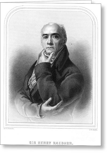 Sir Henry Raeburn Greeting Card by Granger