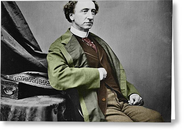 Sir John A. Macdonald Greeting Card by Andrew Fare