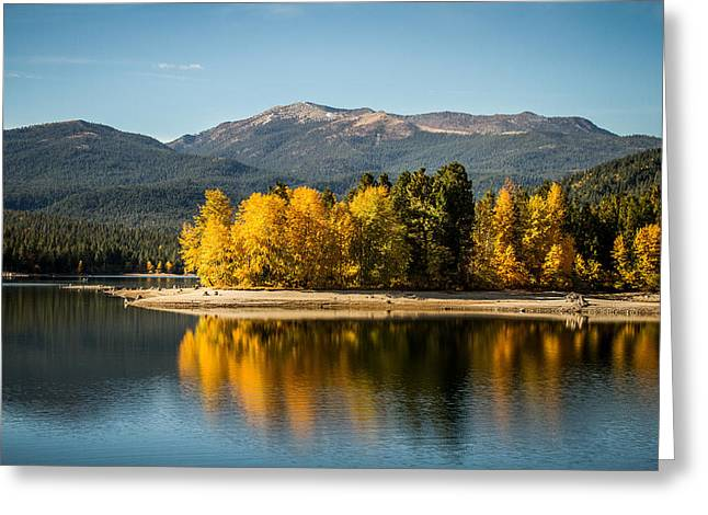 Greeting Card featuring the photograph Siskiyou Lake by Randy Wood